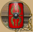 LARP Scutum shield square